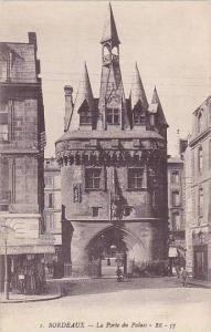 France Bordeaux La Porte du Palais
