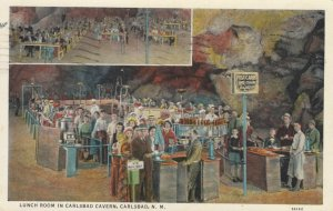 CARLSBAD, New Mexico, 1930-40s; Lunch Room in Carlsbad Caverns