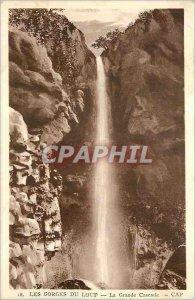 Old Postcard The Gorges du Loup La Grande Cascade