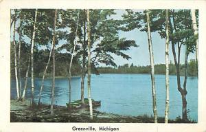 W/B Scenic for Greenville Michigan MI 1953