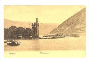 Mauseturm, Bingen (Baden-Württemberg), Germany, 1900-1910s