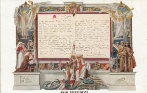 The Queen's Letter , FOR FREEDOM , England, 1910s ; TUCk