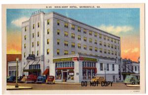 Dixie-Hunt Hotel, Gainesville GA