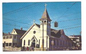 Exterior, St.Mary's Star-of-the Sea,Ocean City,Maryland,40-60s