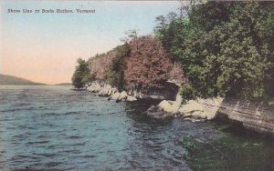 Vermont Basin Harbor The Shore Line Albertype