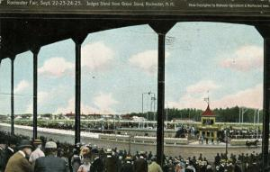 NH - Rochester. 1909 Rochester Fair, Judge's Stand and Grand Stand