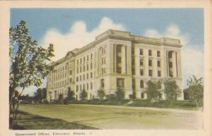 Government Offices, Edmonton, Alberta, Canada, 1930-1940s