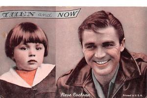 Then and Now, Steve Cochran Actor Mutoscope Unused