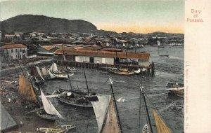 Bay of Panama, Panama, Central America, Early Postcard, Unused