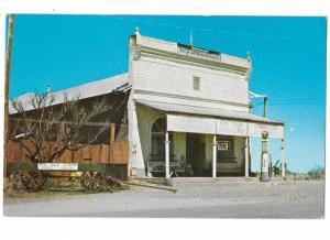 Old General Store with Visible Gas Pump in Front Original Adobe Pearce Arizona