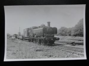 36A - No.540 Saddle Tank Old Steam Loco Real Photograph 8cm x 6cm 140515