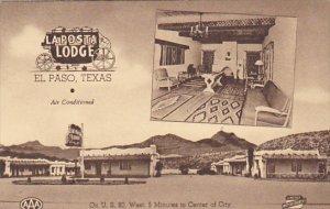 Texas El Paso La Posta Lodge