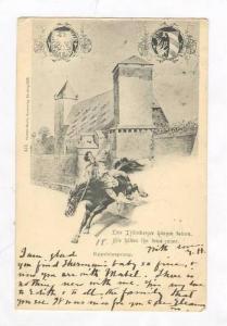 Dir Nurnberger hangen keinen, Eppeleinsprung, Germany 1899