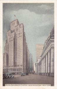 Hotel Governor Clinton Opposite Pennslyvania Station, Seventh Ave., New York ...