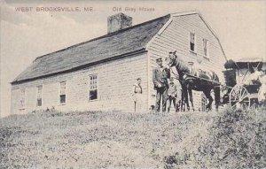 Maine West Brooksville Old Bray House