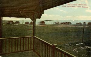 CT - Beach Park. View Southeast from Casino