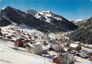 France Chatel (Hte Savoie) Station Village, village et Massif du Linga 1981