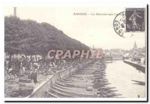 COPYRIGHT Amiens Old Postcard The walk on water