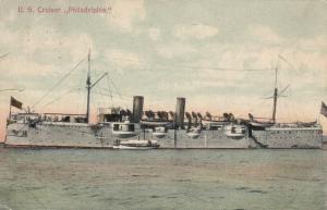 U.S. Cruiser PHILADELPHIA, 1900-10s