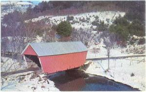 Vermont Covered Bridge at East Bethel Vermont VT