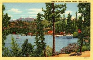 CA - Lake Tahoe. Meek's Bay & Rubicon Peaks