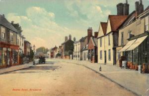 BRAINTREE, Essex UK England   RAYNE ROAD  Car~Storefronts  c1910's Postcard