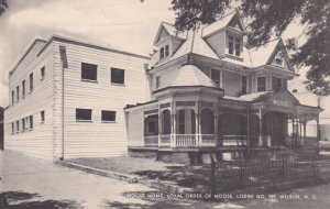 WILSON , North Carolina , W/NEG , 30-40s ; MOOSE Lodge N0. 989