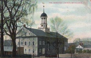 BETHLEHEM, Pennsylvania, 1900-10s; The Moravian Church