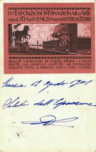 Esposizione Internazionale D'Arte Della Città di Venezia 1901 04.28