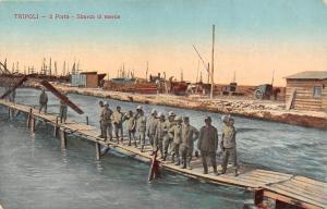 Libya Tripoli - Il Porto - Sbarco di merce