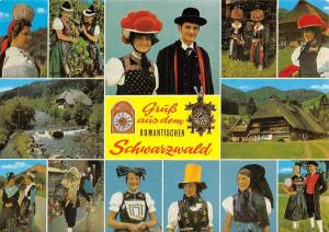 Gruess aus dem Romantischen Schwarzwald Traditional Costumes