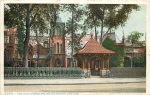 New York~Detroit Publishing #5680 The Little Church Around The Corner~1908 PC