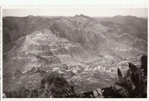 Real photo postcard Africa Eritrea Italian ex-colony Massaua Asmara panorama