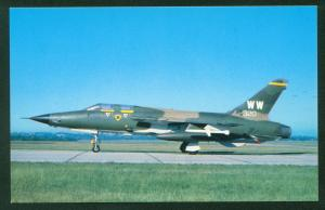 Republic F-105 Thunderchief Supersonic Tactical Aircraft Fighter USAF Air Force