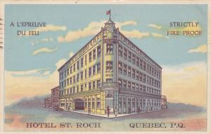 Hotel St. Roch , Quebec , P.Q./ , Canada , PU-1935