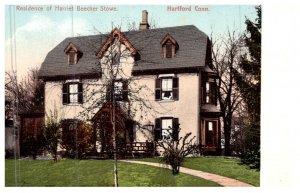 Connecticut Hartford ,  Residence Harriet Beecher Stone