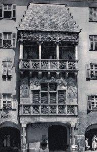 Anton Reiter Innsbruck Austria Real Photo Advertising Hotel Postcard