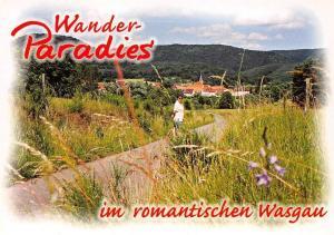 Fischbach im romantischen Wasgau Gesamtansicht Promenade