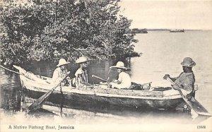 A Native Fishing Boat Jamaica Unused