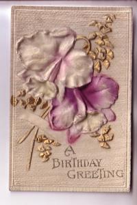 Layered, Deeply Embossed, Silk Flowers, Birthday, BB London, Series B386, Pri...