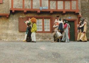 Switzerland Postcard - Basler Fasnacht - Buebezigli Am Heubarg  RR8310