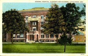AR - Little Rock. General Hospital.  *RPO- Little Rock Terminal
