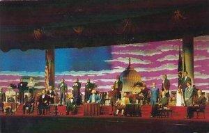 Florida Orlando Walt Disney World LThe Hall Of Presidents 1973