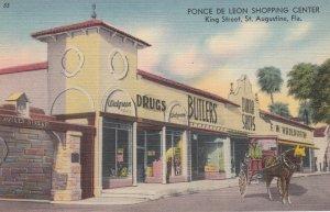 ST. AUGUSTINE , Florida , 30-40s ; Ponce De Leon Shopping Center