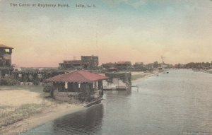 ISLIP , L.I. , New York , 1900-10s ; Canal at Bayberry Pt