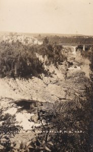 RP: Grand Falls , New Brunswick , Canada , 1910s