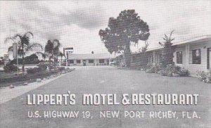 Florida New Port Ritchie Lippert's Motel &  Restaurant