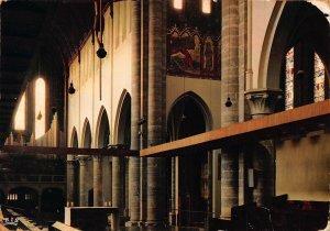 France Abbaye de Maredsous Choeur de l'Eglise Church Postcard