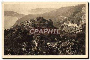 Old Postcard Eze Cote D & # 39Azur