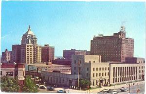 View of Downtown Peoria Illinois IL
